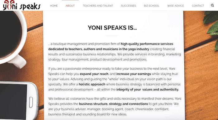 Yoni-Speaks-Website