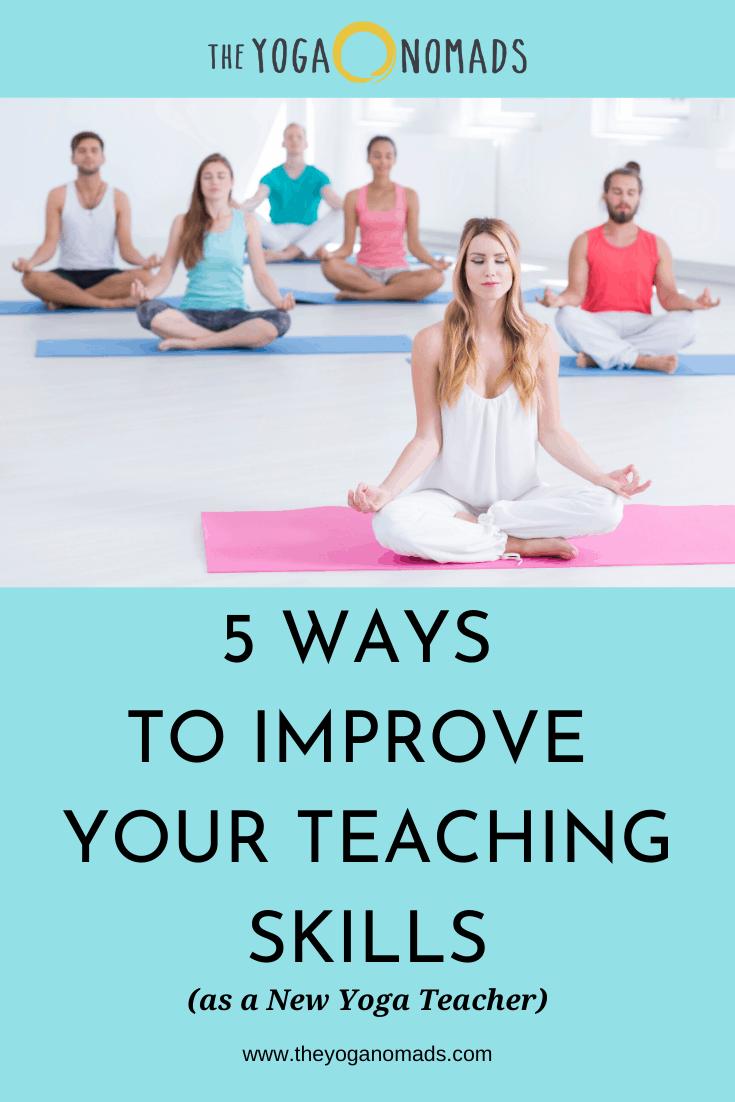 5 Ways to Improve your Teaching Skills