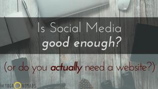 is-social-media-good-enough