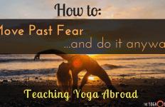 teach yoga abroad