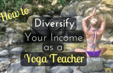 Diversify Your Yoga income