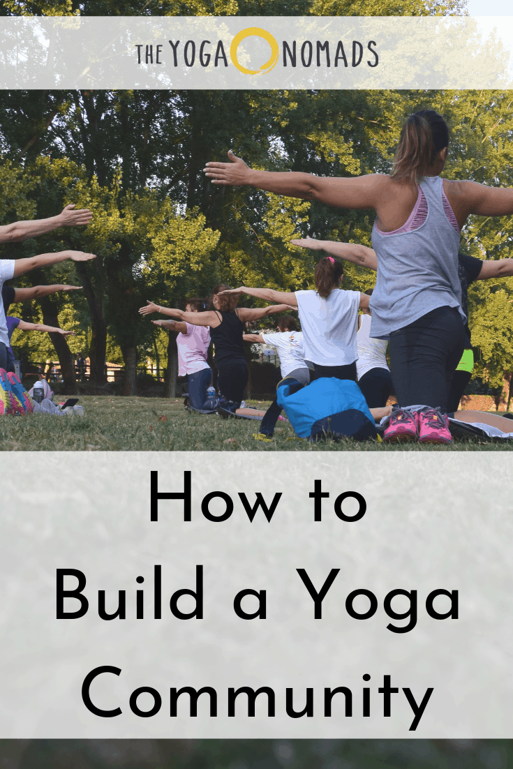 How to Build a Yoga Community_