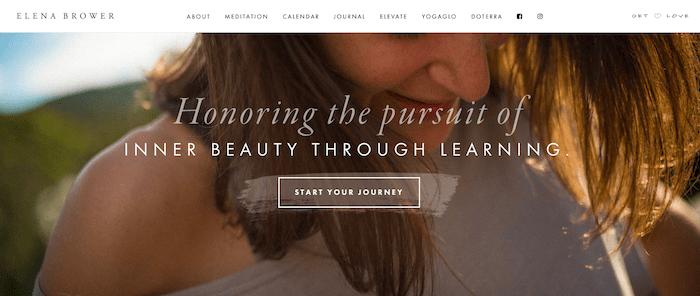 elena brower website