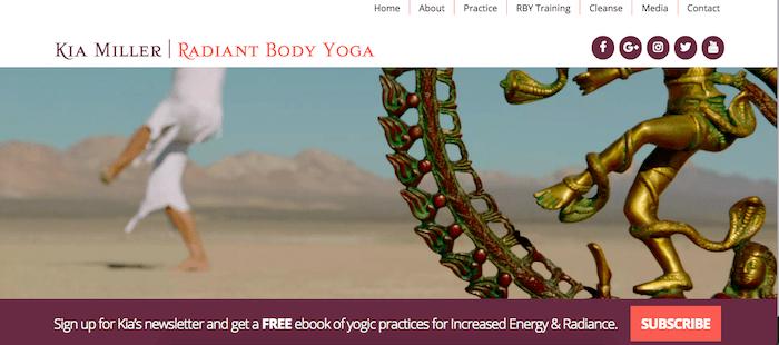Kia Miller Website