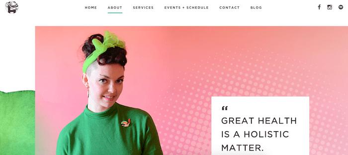 Hannah Gruber DIVI Website