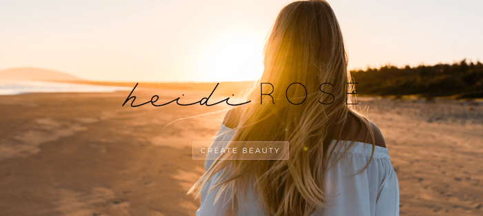 Heidi Rose DIVI website