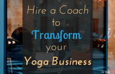 hire a yoga business coach