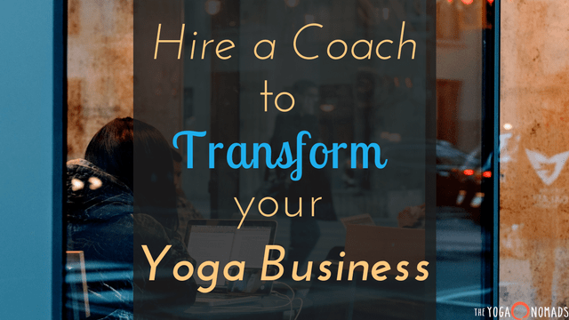 hire a yoga business coach