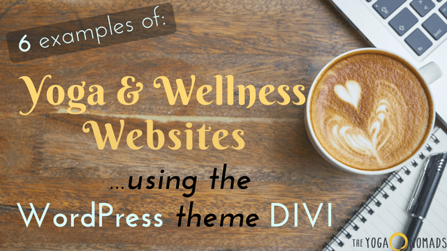 yoga websites using divi