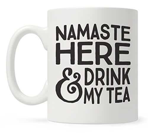yogi tea mug