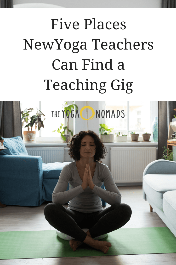 5 Places New Yoga Teachers Can Find a Teaching Gig