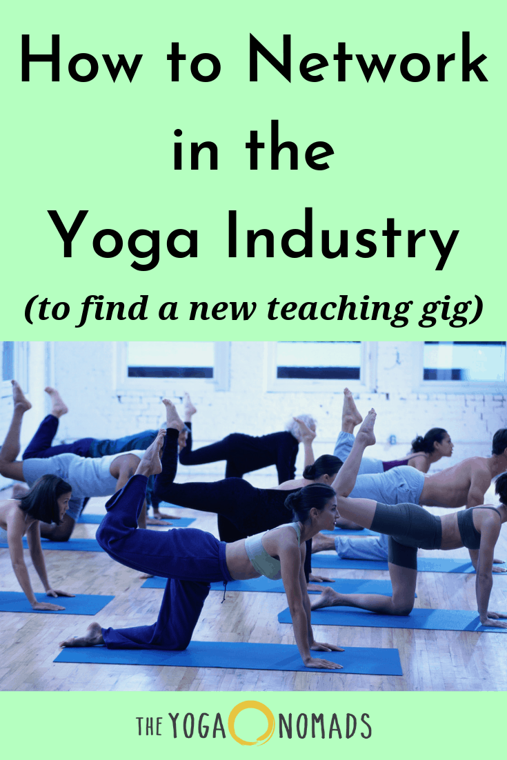 How to Network in the Yoga Industry