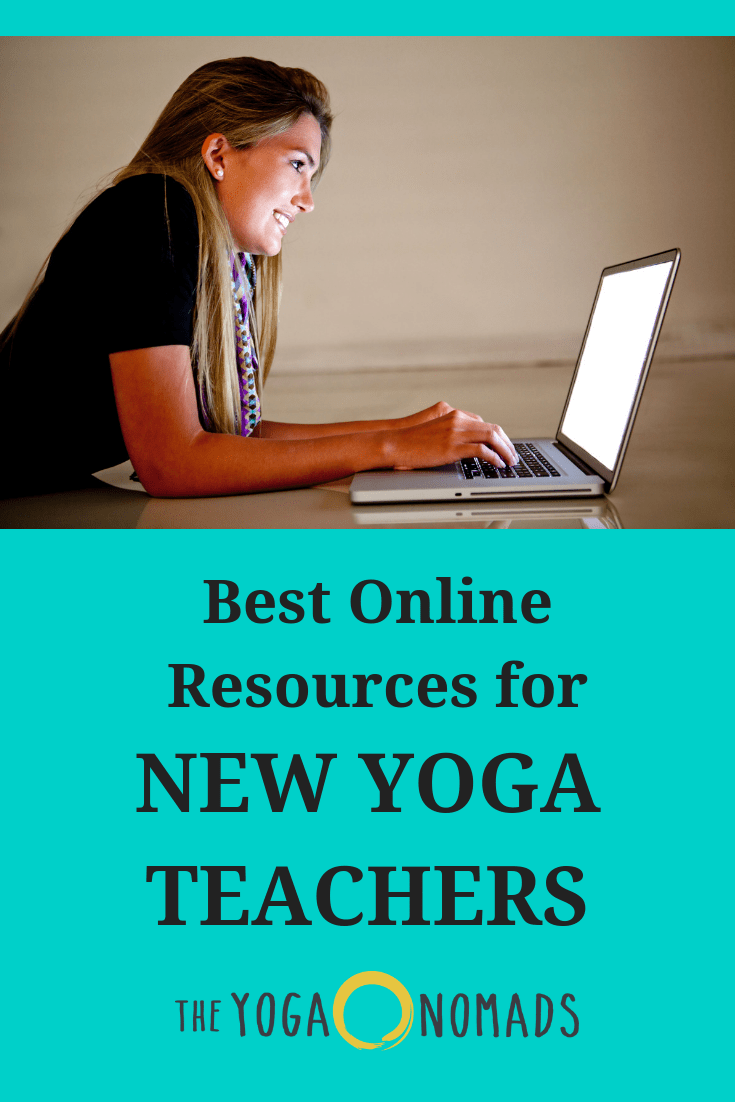 Online Resources for New Yoga Teachers