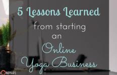 online yoga business