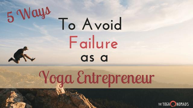 Yoga Entrepreneur Mistakes