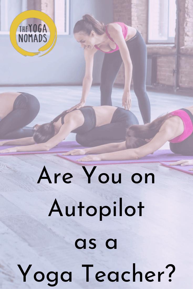 Are You an Autopilot as a Teacher