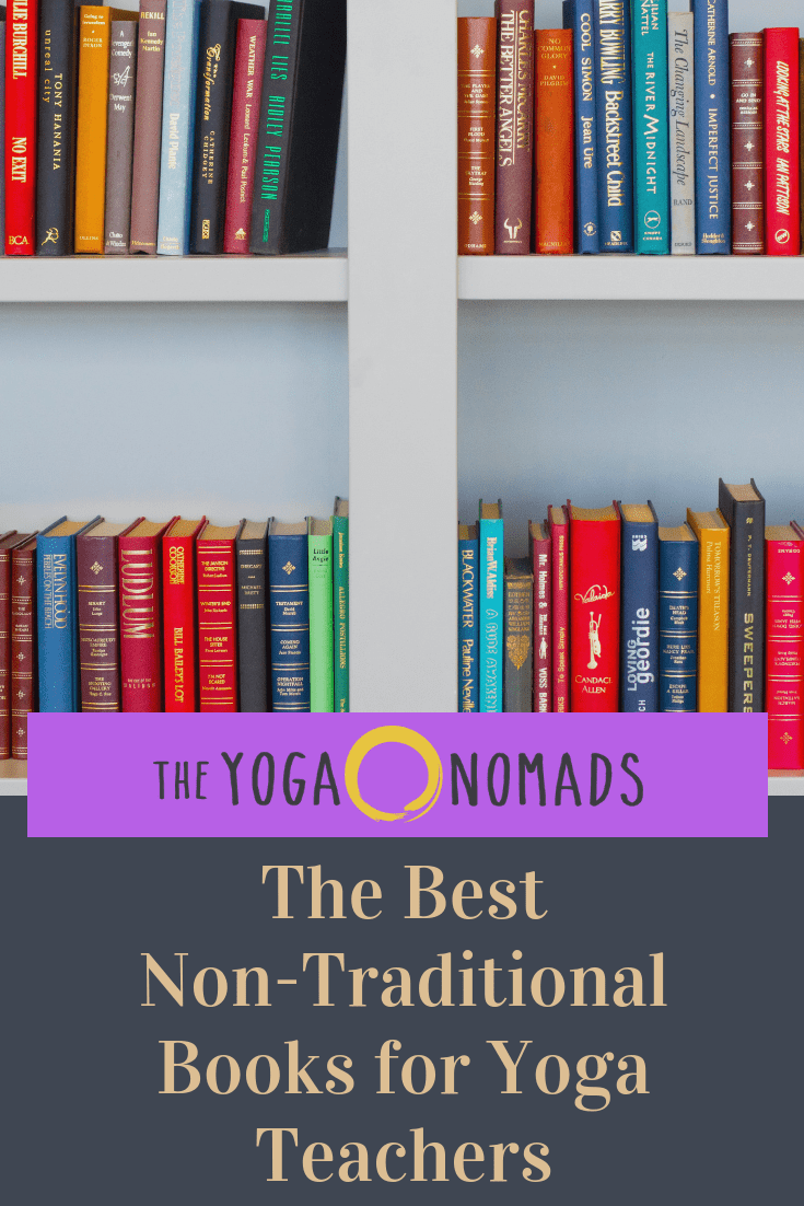 non traditional books for yoga teachers and students