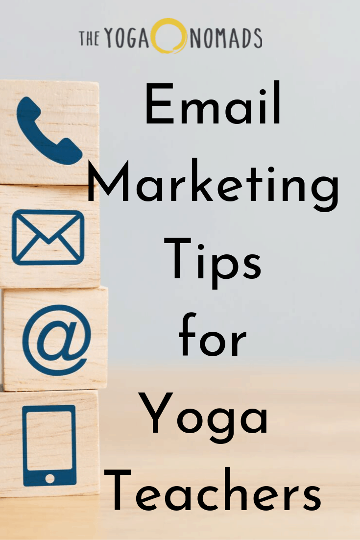 Email Marketing Tips for Yoga Teachers