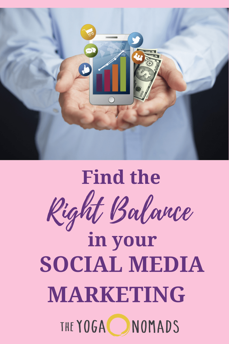 Finding the Right Balance in your Social Media