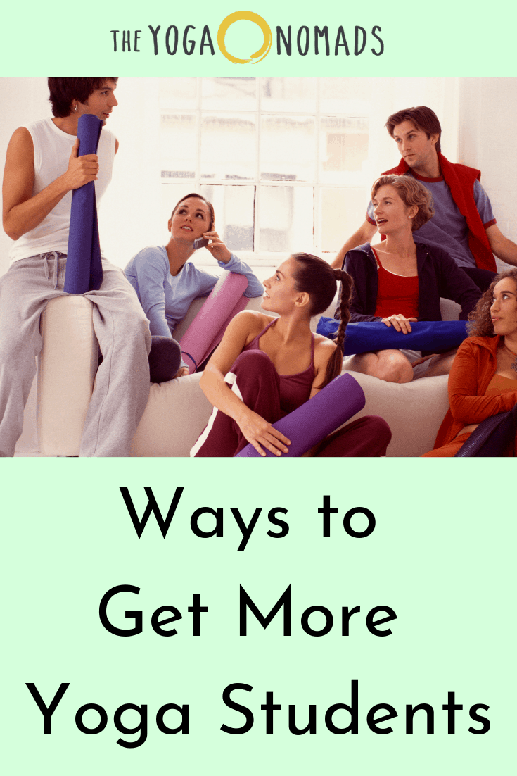 Ways to Get More Yoga Students