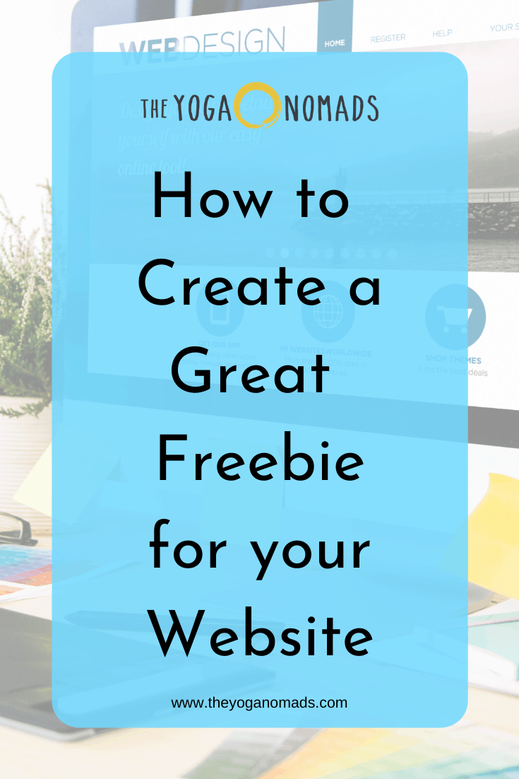 How to Create to Greate Freebie for Your Website