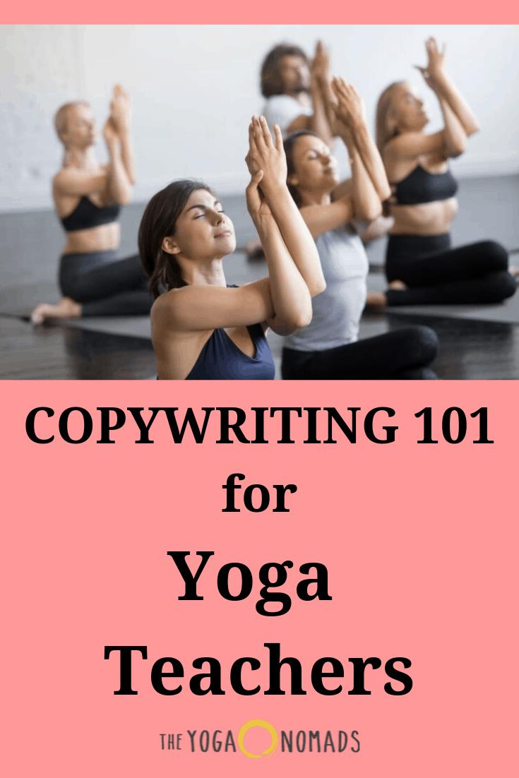 Rédaction 101 pour les professeurs de yoga