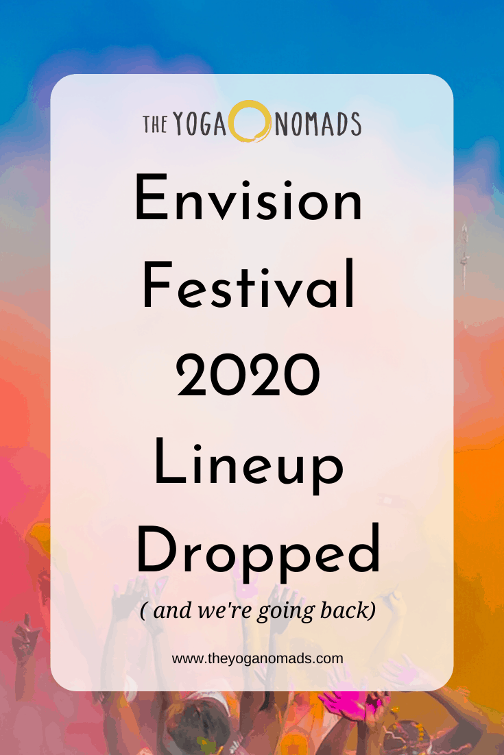 Envision Festival 2020 Line Up Dropped