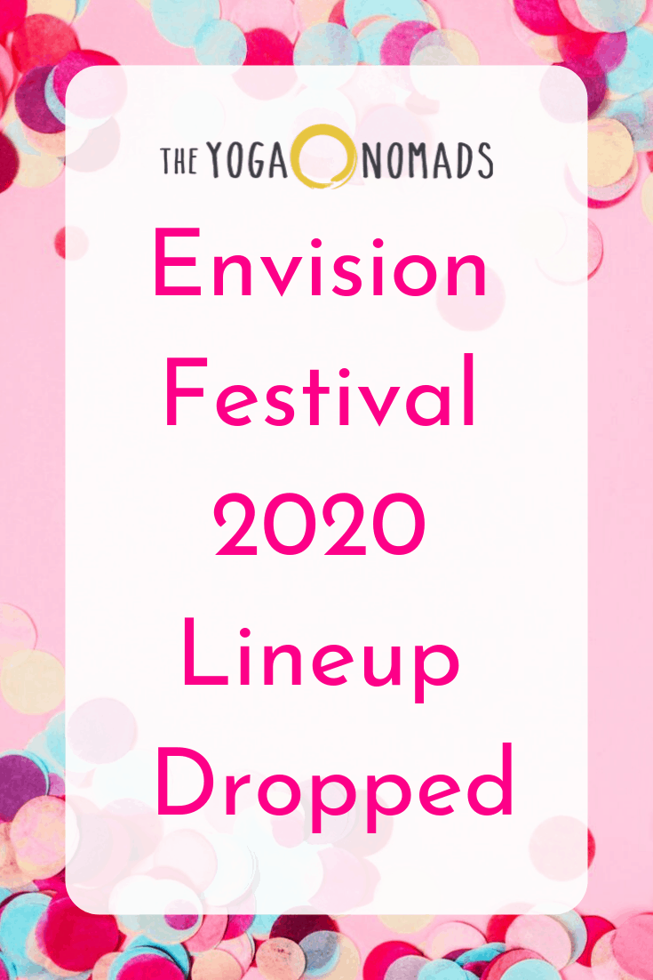 Envision Festival 2020 Lineup Dropped