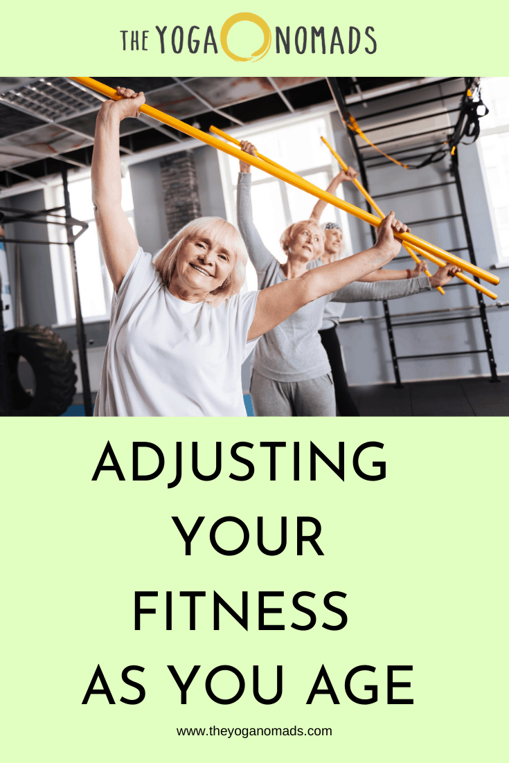 Adjusting your Fitness as You Age 1