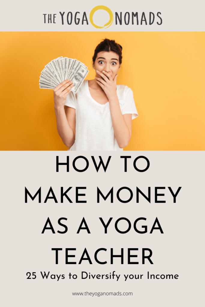 How to Make Money as a Yoga Teacher (2)