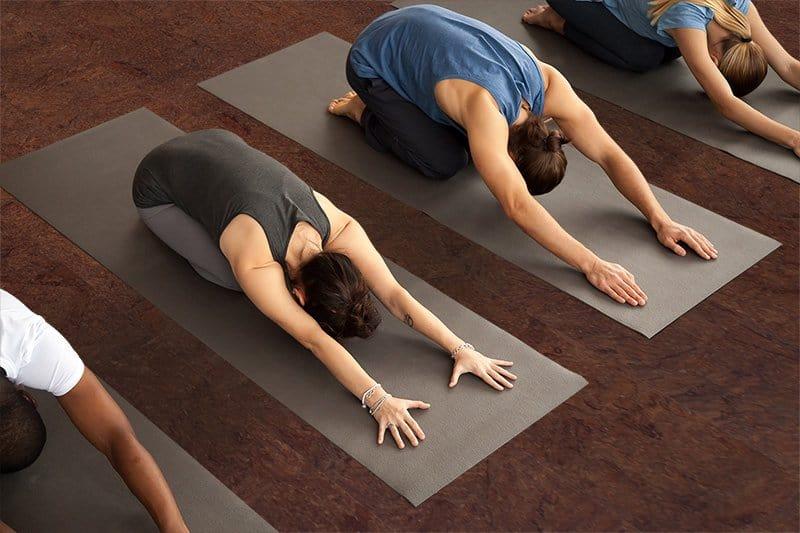 yoga studio flooring