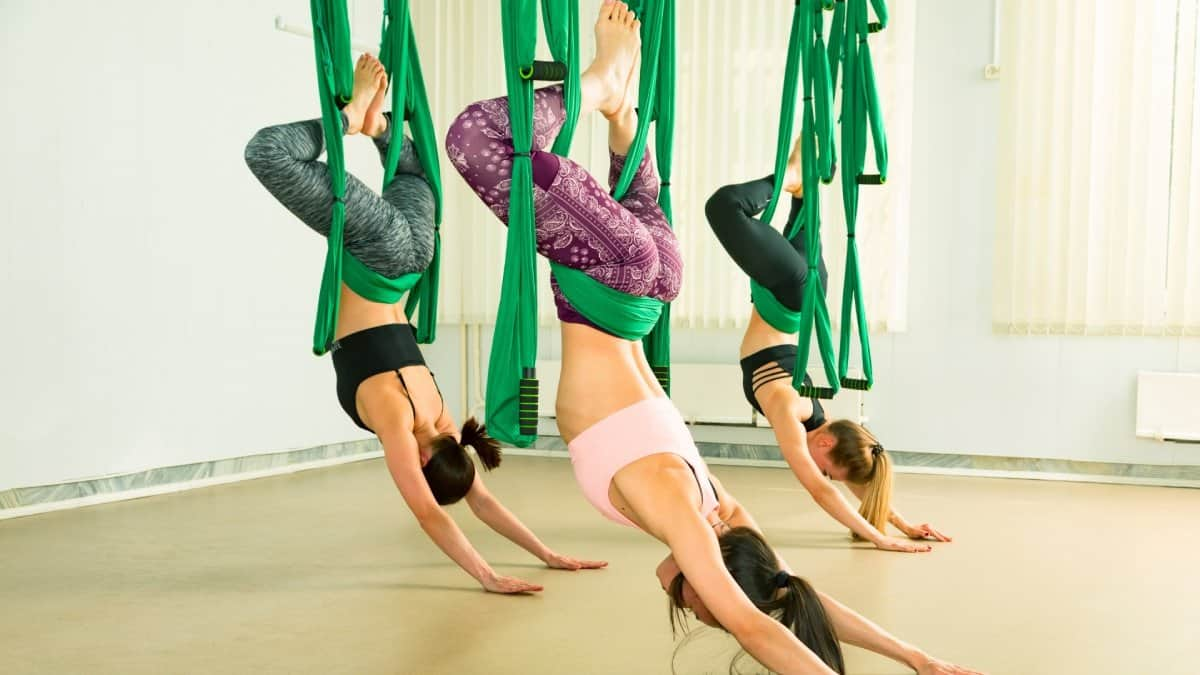 Aerial Yoga Trapeze Swings Hammocks