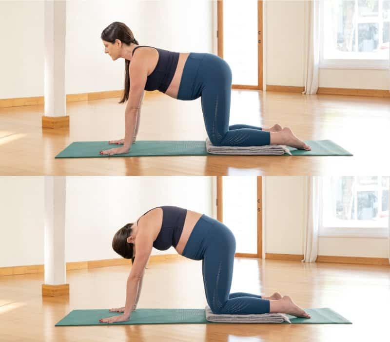 blanket pregnant yogis