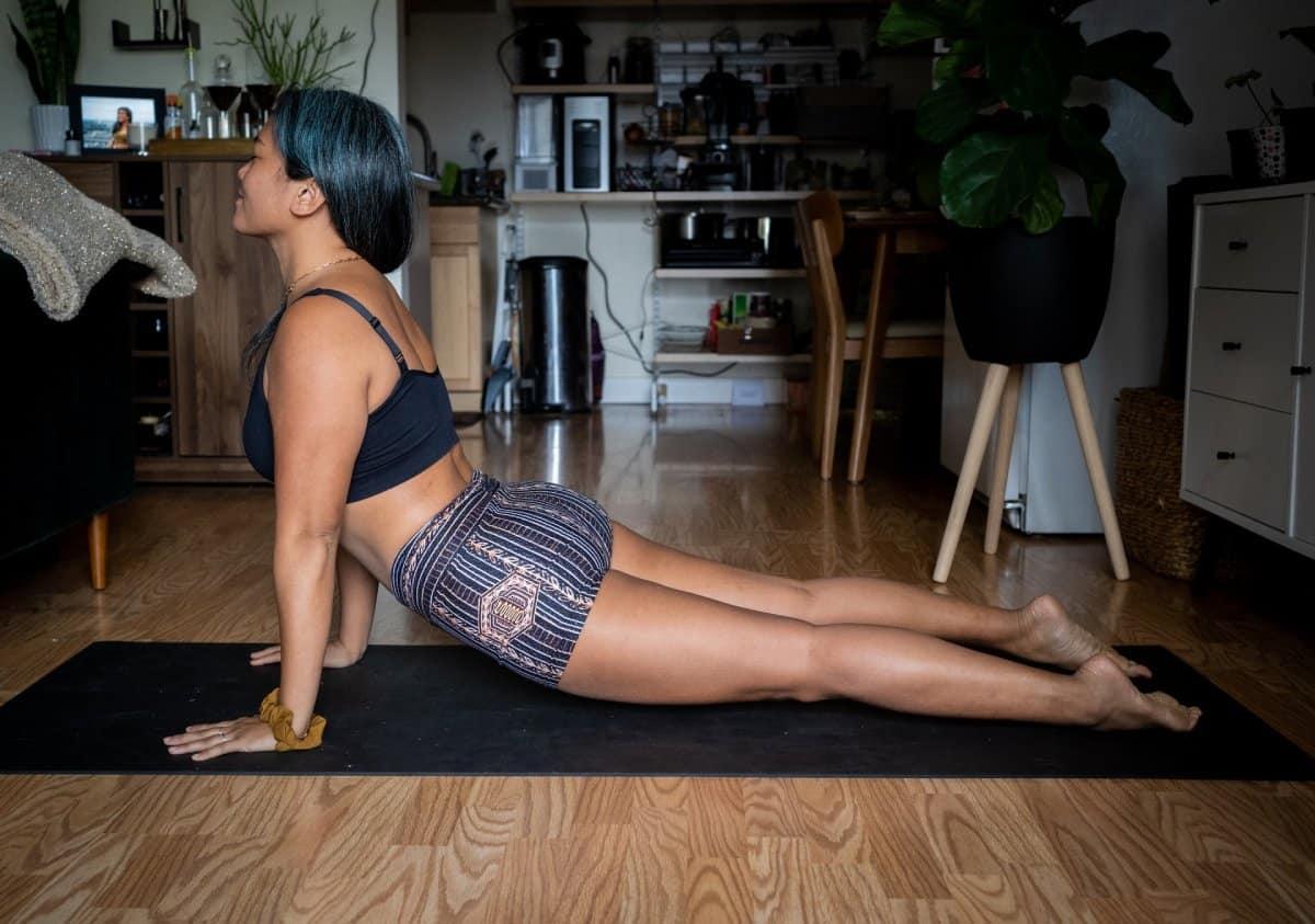 Womens yoga shorts