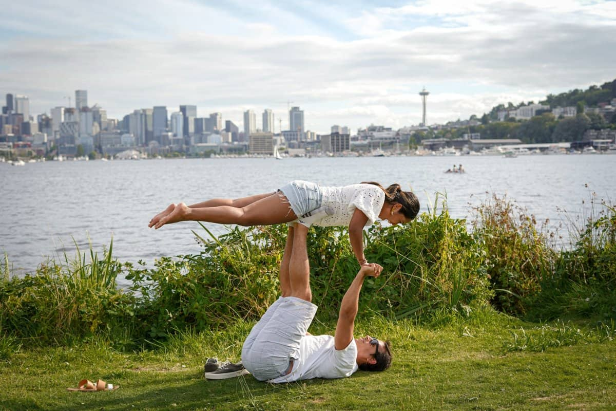 Best Yoga Poses for 2 people